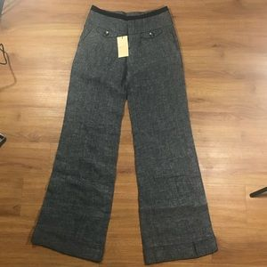 NWT Anthropologie Elevenses Ultra Wide Linen Pant